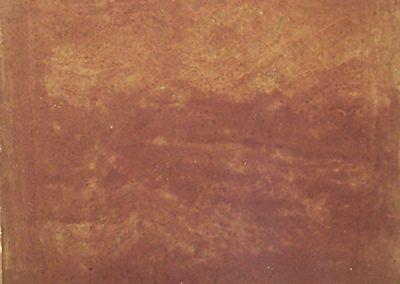 M.Brown on Grey Concrete